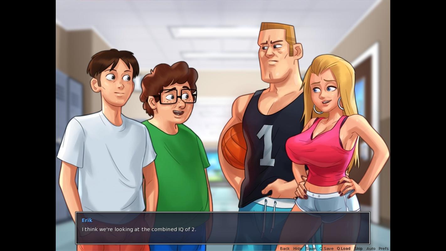 Summertime Saga screenshots