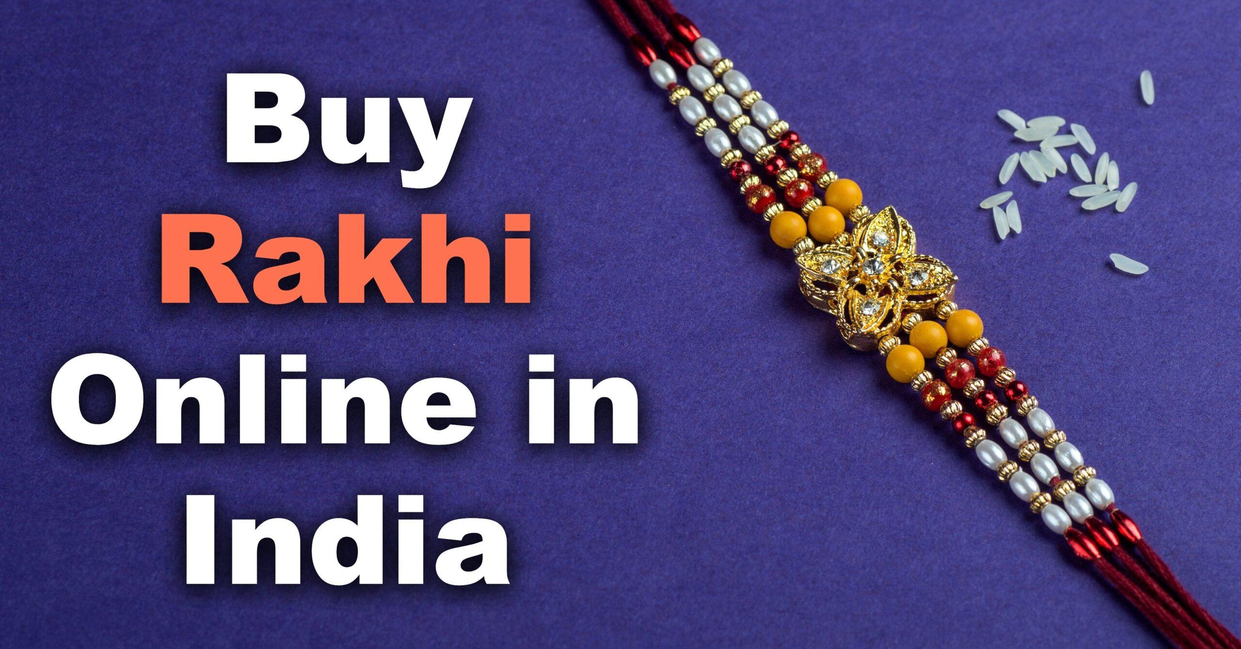 Buy Rakhi Online in India
