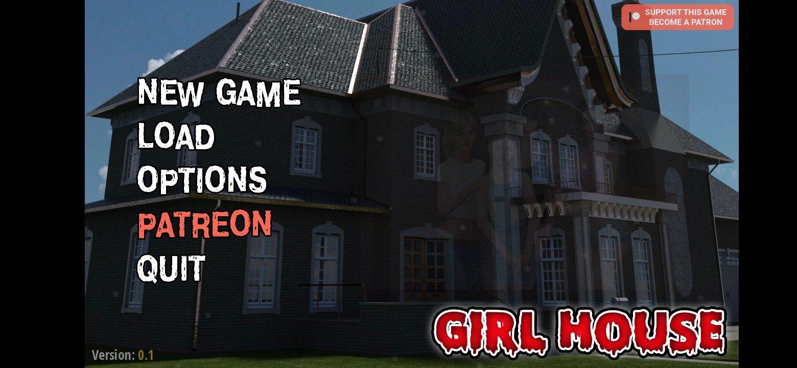 Girl House Game