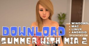 Download Summer with Mia 2 Game Free